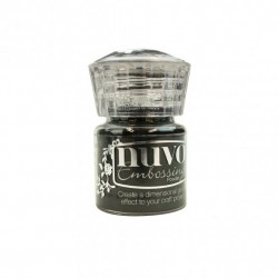Nuvo embossing powder - Polvere da embossing jet black