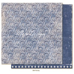 "Carta Maja Design 12""x12"" Denim & Friends - Paisley"