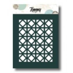 Stencil Tommy Design A6 - Quadrati e Rombi