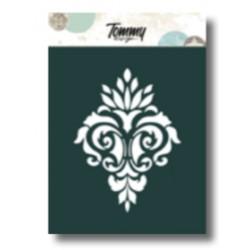 Stencil Tommy Design A6 - Damascato