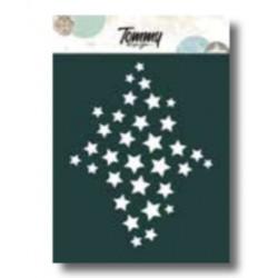 Stencil Tommy Design A6 - Texture stelle