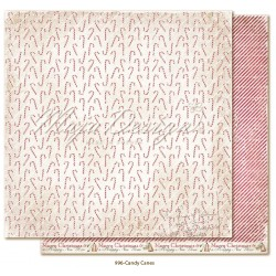 "Carta Maja Design 12""x12"" Christmas Season - Candy Canes"