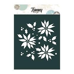Stencil Tommy Design A6 - Alberi di Natale