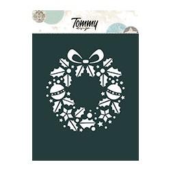 Stencil Tommy Design A6 - Stella di Natale