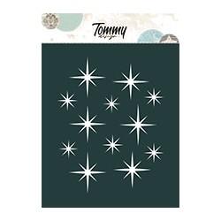 Stencil Tommy Design A6 - Ghirlanda