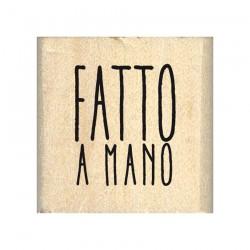 Timbro di legno in Italiano - PICCOLO FATTO A MANO