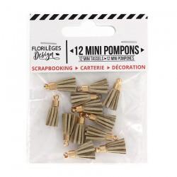 Mini Pompons SABLE Florileges Design - Mini Tasselli