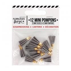 Mini Pompons PERLE Florileges Design - Mini Tasselli