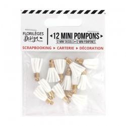 Mini Pompons EDELWEISS Florileges Design - Mini Tasselli