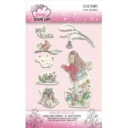 Set timbri Pink Your Life - I Colori di Laura -  Magic Winter