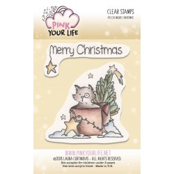 Set timbri Pink Your Life - I Colori di Laura -  Merry Christmas