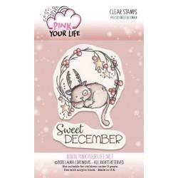 Set timbri Pink Your Life - I Colori di Laura -  Sweet December