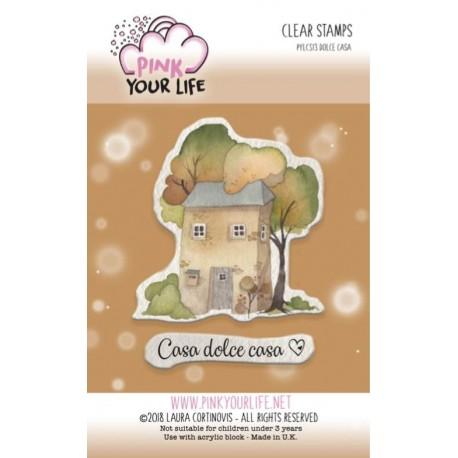 Set timbri Pink Your Life - I Colori di Laura -  Dolce casa