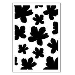 Stencil Tommy Art A5 - Acquarello fiori