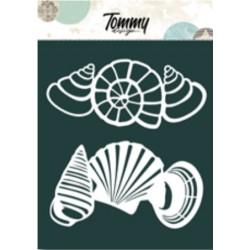 Maschera Tommy Design A5 - Conchiglie
