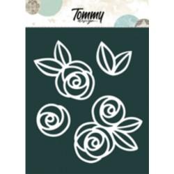 Maschera Tommy Design A5 - Rose