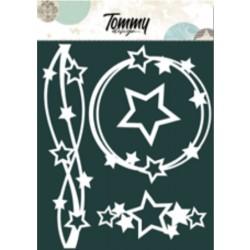 Maschera Tommy Design A5 - Stelle