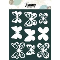 Ritagli Tommy Design A5 - Volo di Farfalle