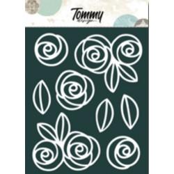 Ritagli Tommy Design A5 - Rose