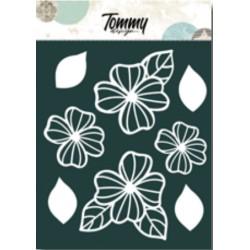 Ritagli Tommy Design A5 - Fiori e Foglie