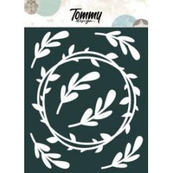 Ritagli Tommy Design A5 - Ghirlanda e Rametti