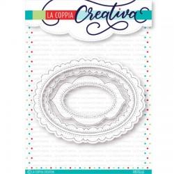 Fustelle la coppia creativa Ovali Creativi Ru-285