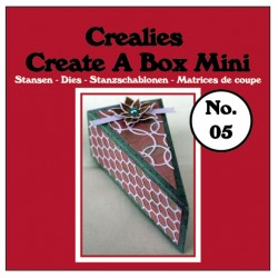 Crealies Create A Box Mini n. 07 Suitcase