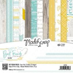 Paper pack Modascrap THE ICY WINTER SEASON 15x15cm