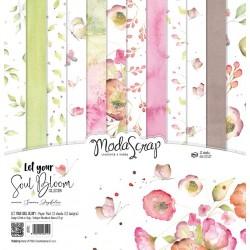 Paper pack Modascrap Let Your Soul Bloom 30x30cm