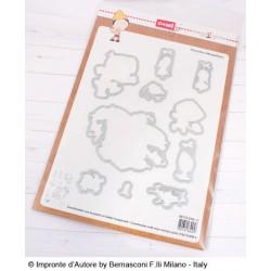 Fustelle Impronte D'Autore Pinocchio e Mangiafuoco
