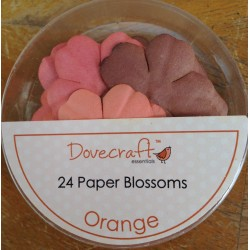 Dovecraft Paper blossom orange
