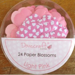 Dovecraft Paper blossom light pink