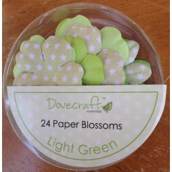 Dovecraft Paper blossom light green