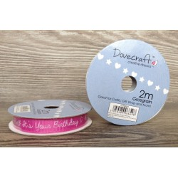 Dovecraft ribbon it's your birthday
