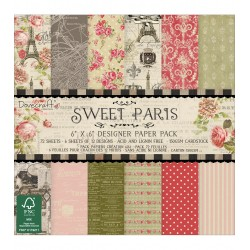 "Dovecraft sweet paris 8""x8"""