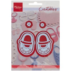 Marianne Design Creatables my first shoes