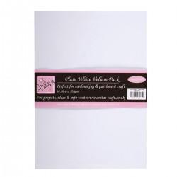 A4 Parchment Vellum (10pezzi) - Plain White