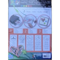 Fogli magnetici stampabili A4 x2