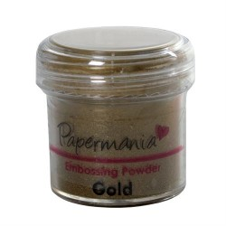 Embossing Powder Gold -  Polvere per embossing Oro 28gr.