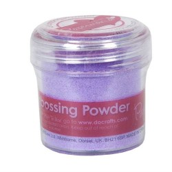 Embossing Powder Lilac -  Polvere per embossing Lilla 28gr.