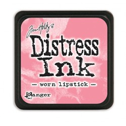 Tim Holtz distress mini ink worn lipstick