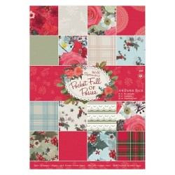 A4 Paper Pack (32pz) - Pocket Full of Posies