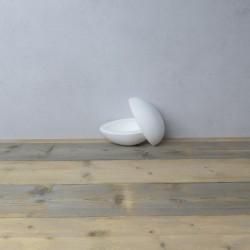 Uovo polistirolo apribile in due parti h16cm