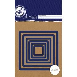 Set Fustelle Aurelie Square Nesting Die (6pz)