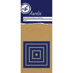 Set Fustelle Aurelie Mini Stiched Square Nesting Die (4pz)