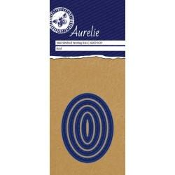 Set Fustelle Aurelie Mini Stiched Oval Nesting Die (4pz)