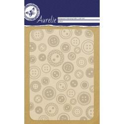 Embossing Folder Aurelie Buttons Background