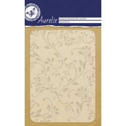 Embossing Folder Aurelie Blossoming Vine Background