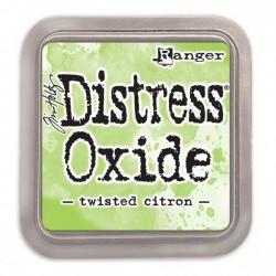 Ranger Tim Holtz distress oxide twisted citron