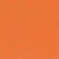 "Florence cardstock texture (simil bazzil) 12x12"" 216gr mandarine"